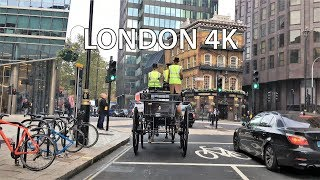 London Drive 4K - Modern Day Westminster - UK