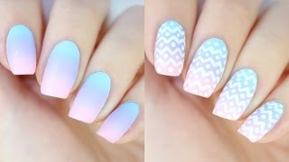 EASY Ombré Nails for Easter!