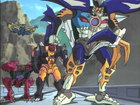 Transformers Robots In Disguise Episodio 03 Rescate Del Tren Bala