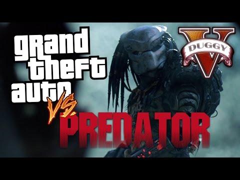 GTA vs Predator GTA V Machinima
