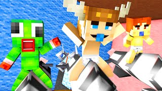Minecraft - WHO'S YOUR DADDY - BABY BLOWS UP THE HOUSE ?!