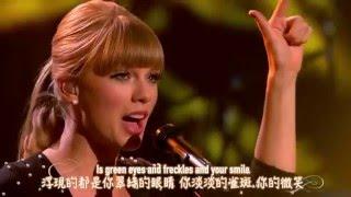 ★ Everything has changed《一切都不同了》- Taylor Swift ft. Ed Sheeran 現場版中文字幕★