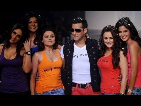 Being Human Salman Khan Fashion Show B-Town Divas