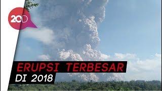 Video Gunung Sinabung Meletus