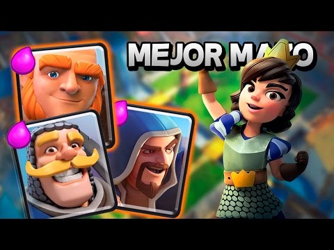 MEJOR MAZO/DECK PARA ARENA 6 | CLASH ROYALE EN ESPAÑOL