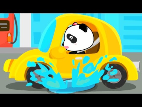 Baby Panda Kids Play and Learn Words With Animated Stickers Fun Baby Educational Kids Games