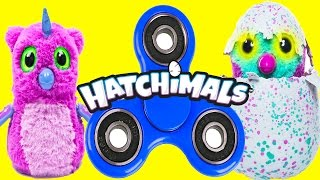 Hatchimals Fidget Spinner Game with Paw Patrol, LOL Surprise, Colleggtibles, Flipazoo Pt 2