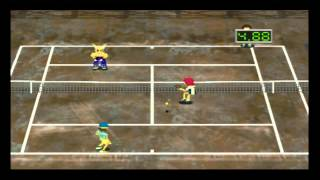 PSX - Anna Kournikova Smash Court Tennis - chamuscado mode