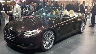 BMW 440i Convertible 2016 In detail review walkaround Interior Exterior