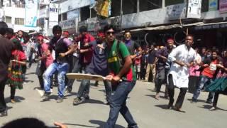 ICC World Twenty20 Bangladesh 2014   Flash Mob Pabna Textile Engineering College