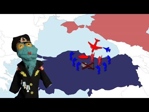 Russia vs Turkey: The Land war