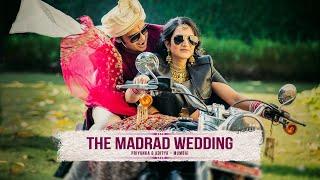 The Madrad Wedding - Priyanka & Aditya Trailer filmed on 'Meheram Mere', sung by the bride
