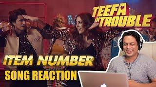 Teefa In Trouble | Item Number Song Reaction | Ali Zafar