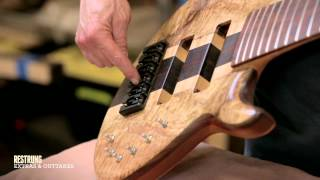 How to Build a Bass Guitar - Step #15 - Pickups and Electronics