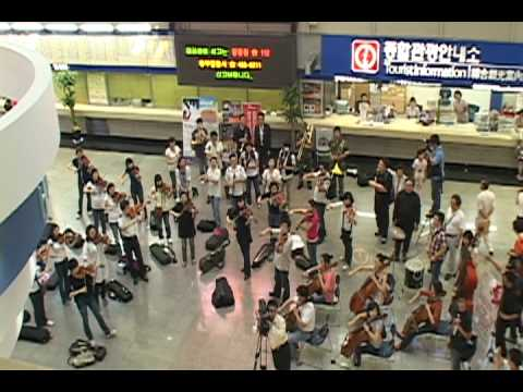 오페라 플래시몹 부산역 Flashmob Opera Pusan Station
