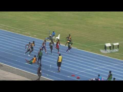 Carifta Trials 2017 Boys U18 100m Final
