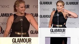 Amy Schumer's 'Catch A Dick' NSFW Acceptance Speech Is Simply Awesome
