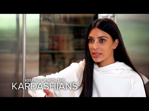 KUWTK Kim Kardashian West Has Flashback of Paris Robbery E