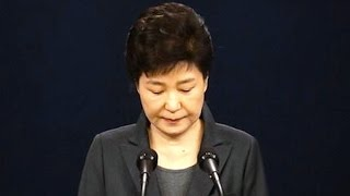 PRESIDENT PARK HAS BEEN IMPEACHED!!!!