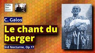 C. Galos : Le Chant du Berger, 3rd Nocturne, Op. 17