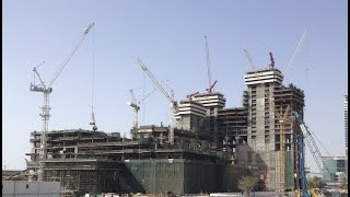 Al Habtoor City Construction Time Lapse (April 2012 -- May 2014)