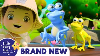 5 Little Speckled Frogs   BRAND NEW!   Baby Songs +Nursery Rhymes & Kids Songs   Little Baby Bum
