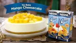 """""""No-bake Mango Cheesecake""""  NESTLÉ CREAM   Nestlé PH"""