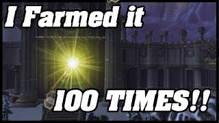 I Farmed HALLS OF LIGHTNING 100 Times! This Is What I Got!