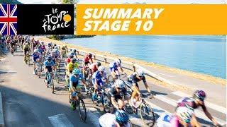 Summary - Stage 10 - Tour de France 2018