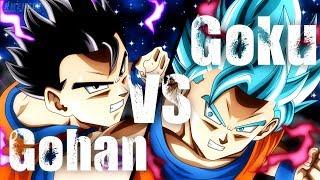 Goku vs Gohan full fight [Dubstep Remix] {HD}