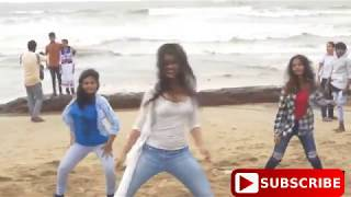 SEXY HOT GIRLS DANCE ON BEACH ON BOLLYWOOD SONG hottest desi video