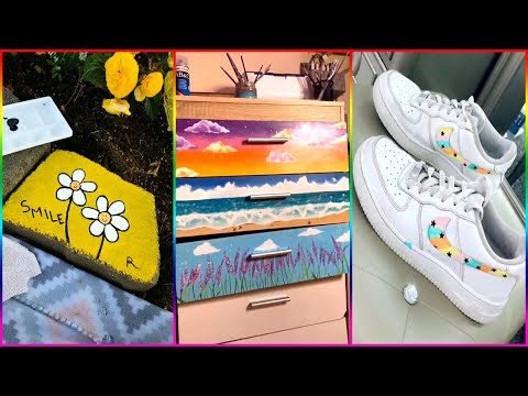 People Painting Things on TikTok for 5 Minutes Straight 14