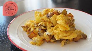 Patatesli Yumurta Nasıl Yapılır ? - İdil Tatari - Yemek Tarifleri