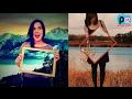 Tutorial Cara Edit Transparan Frame (invisible Effect) Dengan Picsart