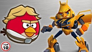 Top 10 Alternate Versions Of Angry Birds