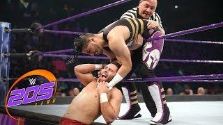 Mustafa Ali vs. Noam Dar: WWE 205 Live, Feb. 21, 2017
