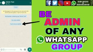 HOW TO BECOME ADMIN OF ANY WHATSAPP GROUP |EARN ONLINE AND GEEK HACKINGS|