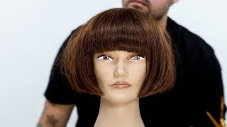 One Length Bob Haircut Tutorial | MATT BECK VLOG SEASON 2 EPISODE 003