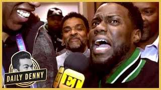 NO ONE Had As Much Fun At Super Bowl 52 Than Kevin Hart | Daily Denny