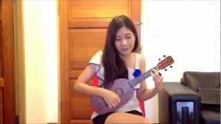 老鼠爱大米 (lao shu ai da mi) Ukulele Cover.wmv