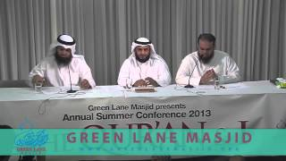 Interview Sheikh Mishari Rashid Al Afasy - لقاء الشيخ مشاري العفاسي في بريطانيا 2013
