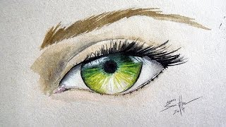 How to Paint an Eye: Watercolor Tutorial