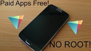 How to Get Paid Apps Free on Android! NO ROOT!!!