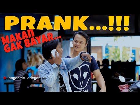 NEKAT! makan gak bayar Prank Indonesia