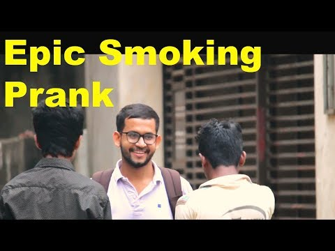 Funny Smoking Prank Video l New prank 2017 Bangladesh l Bangla Funny Prank - PrankYou XD
