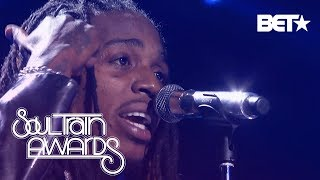 """Jacquees Serenades The Crowd With """"B.E.D"""" And """"You""""   Soul Train Awards 2018"""