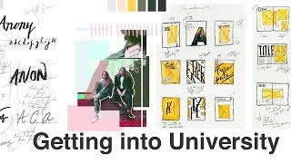 My University Portfolio For GRAPHIC DESIGN COMMUNICATION // UAL CSM, AUB etc