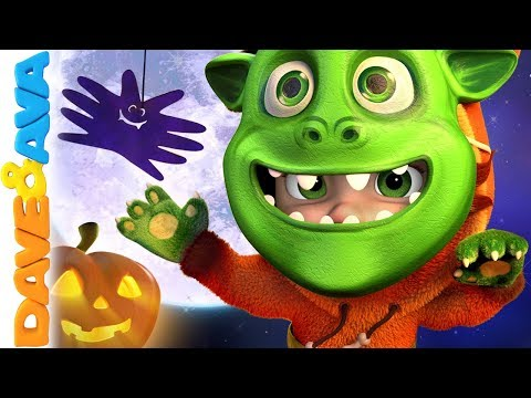 👻 Halloween Nursery Rhymes & Halloween Songs Dave and Ava 👻