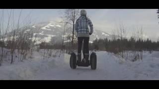 Segway Tour im Schnee in Tirol