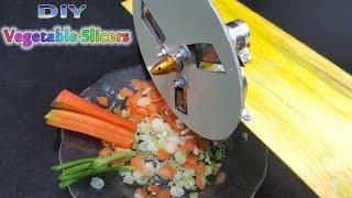 How To Make A Mini Vegetable Slicers Machine